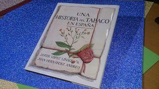 """LIBRO """"Historia del tabaco en España"""""""