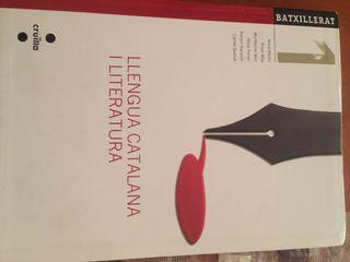 Libro escolar llengua catalana i literatura