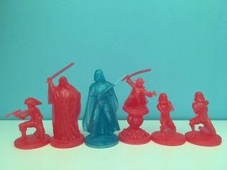 Hologramas figuras Star Wars