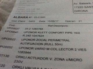 Tubo Suelo Radiante UPONOR PIPE 16/2