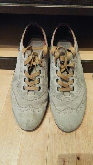 Zapatos piel Tomy Hilfiger