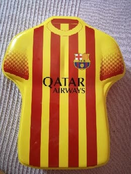 Caja metálica del Barcelona