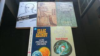 coleccion libros isaac asimov