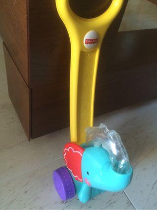 Correpasillos juguete elefante
