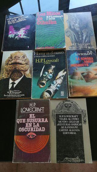 coleccion libros de H.P lovecraft