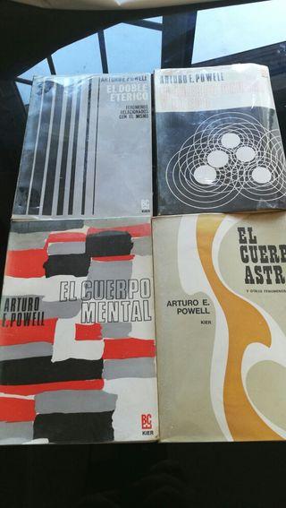 4 libros de Arturo E. Powell