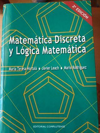 Libro matemática discreta y lógica matemática