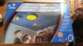 Lámpara sistema solar