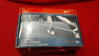 Tobilleras con peso Nike