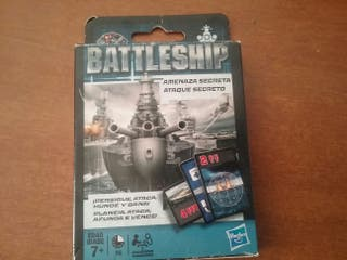 Juego de cartas Battleship de Hasbro sin abrir