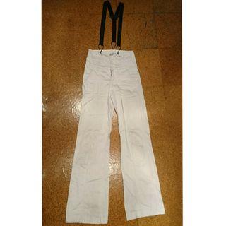 pantalón tirantes