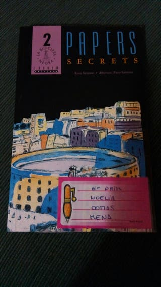 Papers secrets Libro lectura infantil valenciano
