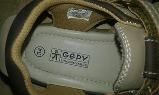 zapatos verano niño gepy sandalias