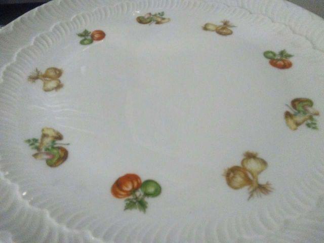 Fuente porcelana de Limoges
