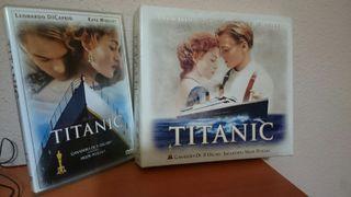 Titanic edicion coleccionista vhs+ dvd