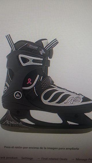 patin hielo nuevo