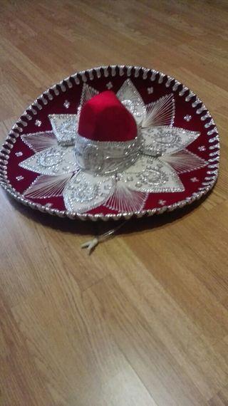 Sombrero mejicano auténtico
