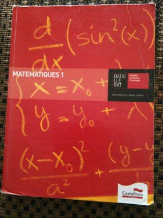 Libro Matematiques 1° Bachillerato