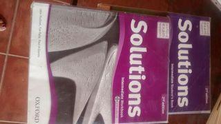 Libro inglés 4º de eso solutions editorial Oxford