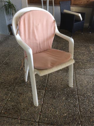 Conjunto 2 cojines silla jardin