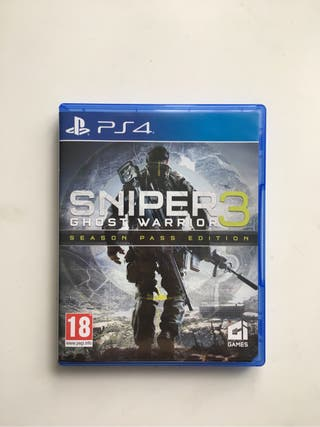 Sniper 3 Ghots Warrior PS4