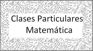 Clases particulares matemáticas