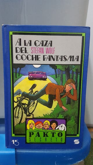 """libro lectura """"A la caza del coche fantasma"""""""