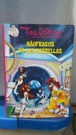 """Libro lectura """"Náufragos de las estrellas"""""""