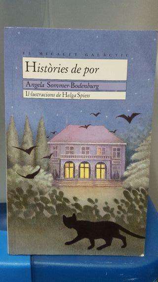 """libro de lectura """"Històries de por"""" Ed Bromera"""