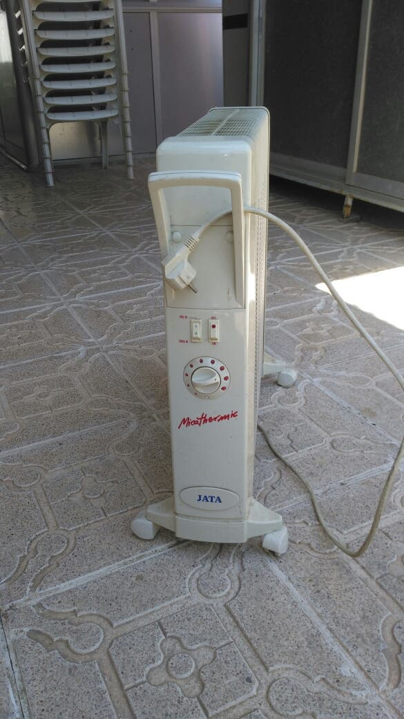 Calefactor eléctrico, Jata