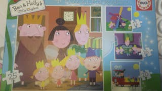 4 puzzles Ben & Holly