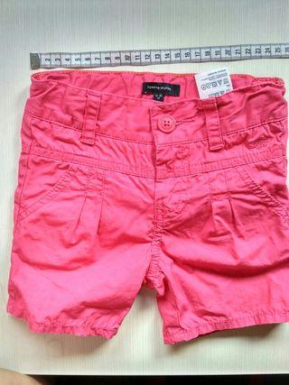 Pantalón y camiseta 12-18 m Tommy Hilfiger