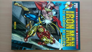 Comic Biblioteca Marvel Iron Man