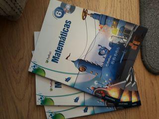 Libro Matemáticas Sexto