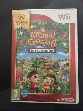 Juego wii ANIMAL CROUSSING