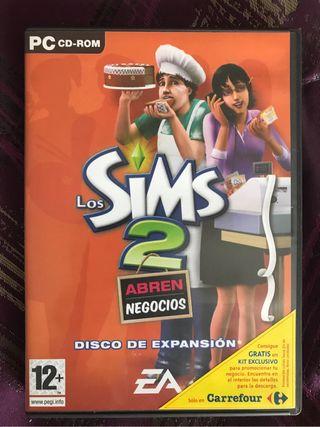 Los Sims 2 Abren Negocios