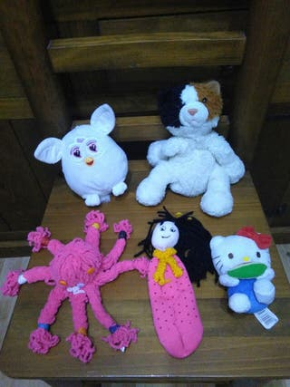 PELUCHES ( LOTE 5 UDS )