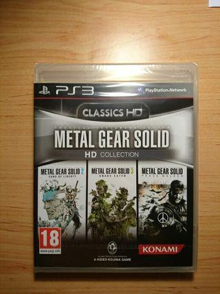 Ps3 Metal Gear Hd Colletion Precintado