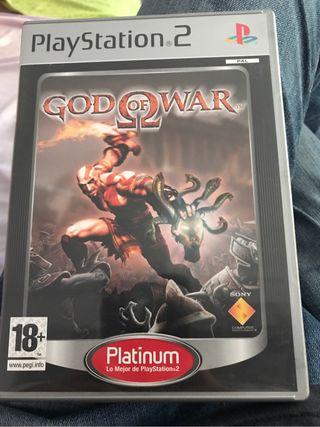 Caja + instrucciones God Of War PS2