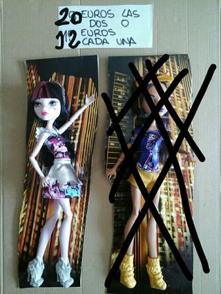 Monster high Draculaura nueva
