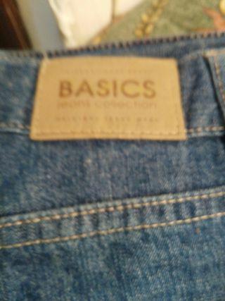 pantalon corto Basic,talla,42-por grande ,