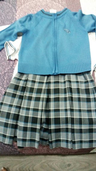 falda 10Años zapatos 36 la milagrosa colegio
