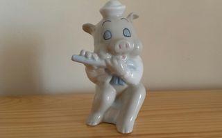 Figura cerdito porcelana Walt Disney. Descuento