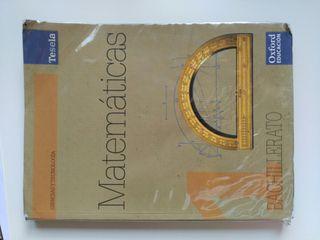 Libro matematicas 1°bachillerato, oxford.