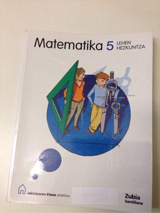 Lehen hezkuntza 5-6 matematika
