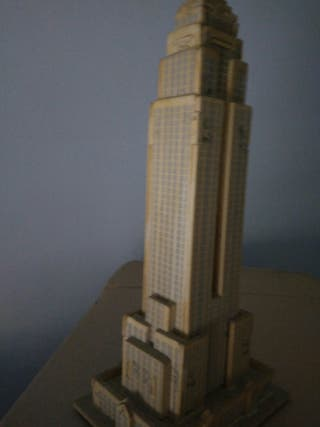 Maqueta puzzle madera Empire State Nueva York