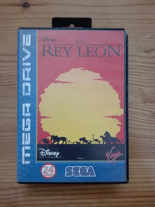 Rey León Mega Drive
