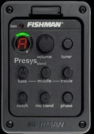 Pre amplificador fishman guitarra nuevo