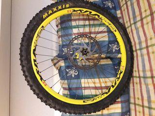 Llanta bicicleta descenso