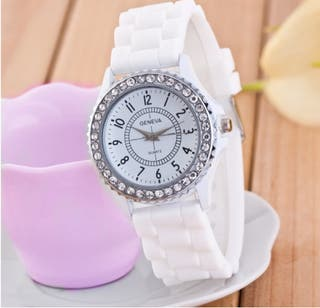 Reloj Sun Brilliant, color blanco